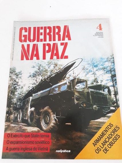 Revista Guerra Na Paz N 4