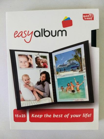 Album Fotográfico Para 20 Fotos 15x23 Com Capa E Luva