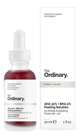 Aha 30% + Bha 2% Peeling Solution - The Ordinary