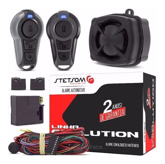 Alarme Para Carro Evx Top C/ Anti-furto E 2 Controles Cx-1