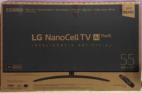 Tv LG Nanocell Sm9000psa Nova Com Nota Fiscal E Garantia
