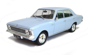 Chevrolet Opala 2500 Sedan 1969 1:24 Azul Califórnia Classic