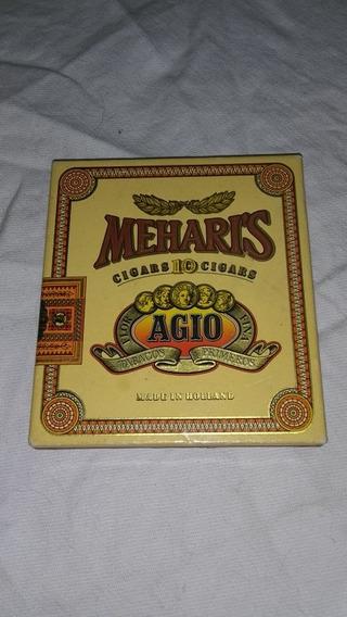 Caja De Carton Cigarros Cigarrillos Meharis Vacío Usado