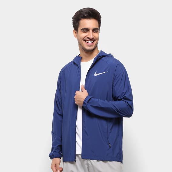 Jaqueta Impermeável Ess Hooded Nike 856892 - Marinho