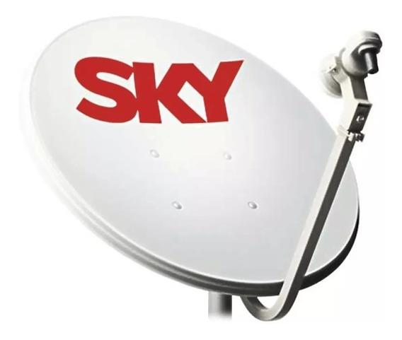 Antena Parabólica Digital Sky 90cm Promoção