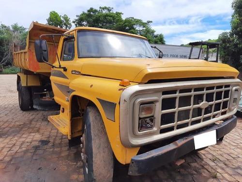 Ford F 600 Ano 1978 Toco 4x2 Com Caçamba.