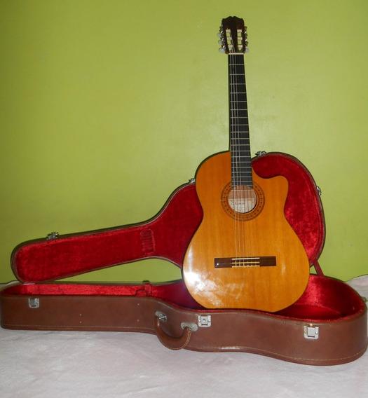 Guitarra Electroacustica Takamine Eg-124c + Estuche Rigido