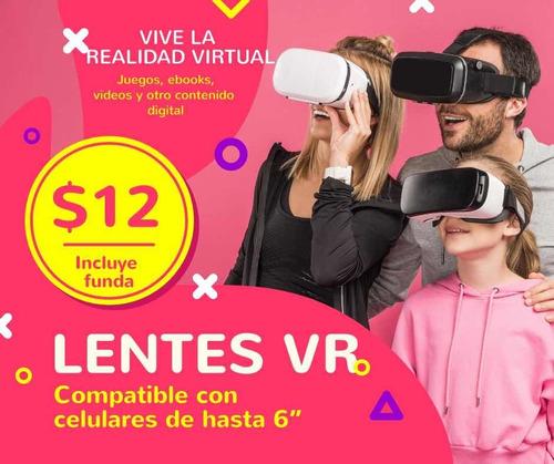 Lentes De Realidad Virtual Vr Con Auriculares