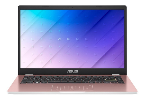 Notebook Asus Intel N4020 128gb Ssd 4gb 14 Rosa Windows10 Ms