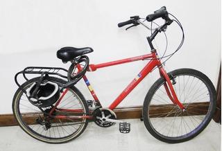 Bicicleta Marca Look Como Nueva Con Casco Y Candado