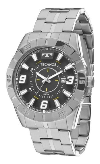 Relógio Technos Masculino Performance Racer Prata 2115kyx1p