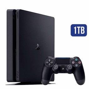 Playstation 4 Slim 1 Tb Novo Na Caixa