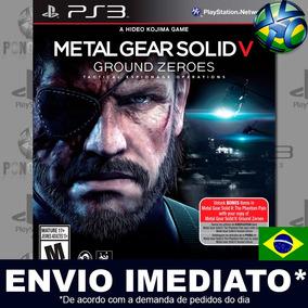 Metal Gear Solid V Ground Zeroes Ps3 Leg. Português Envio Já