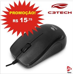 Mouse Óptico Usb Ms-25bk Preto C3t