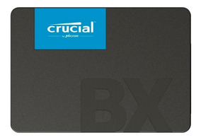 Ssd Crucial Bx500 480gb Sata Leitura 540mbs Gravação 500mbs