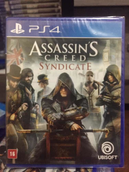Jogo Assassins Creed Syndicate Playstation 4, Midia Física