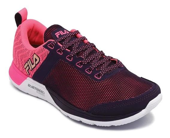 Fila Zapatillas Mujer Running Fxt Cross 53 Uva/rosa Fluor
