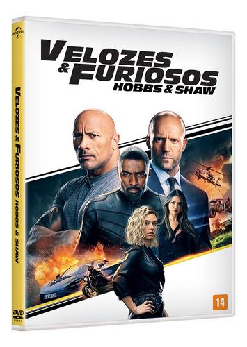 Dvd - Velozes E Furiosos: Hobbs & Shaw