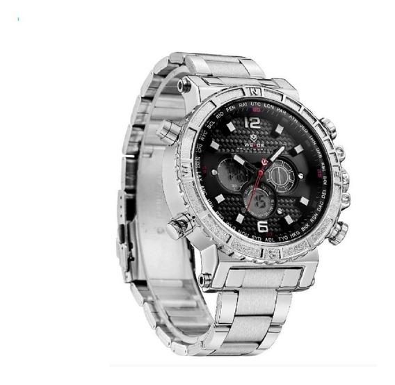 Relógio Masculino Weide Anadigi Wh6305 Original