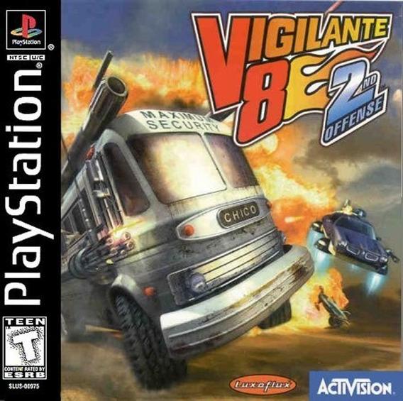 Patch Vigilante 8 2nd Offense Ps1/ps2 ( Pague 1 E Leve 5 )