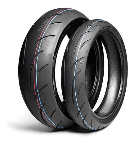 Cubiertas King Tyre K97120 70 17+190 55 17 Doble Compuesto