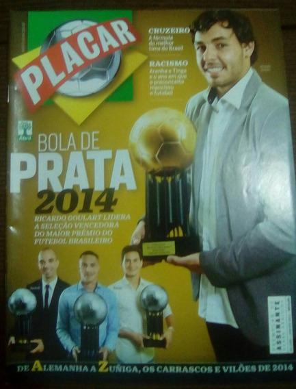 Revista Placar Bola De Prata 2014 Ed. 1398