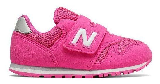 Tênis Feminino Infantil New Balance 373 Rosa Iv373pk*