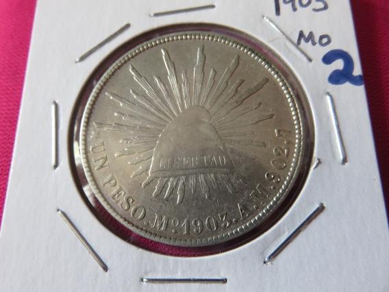 1 Un Peso Fuerte 1903 Mo Am