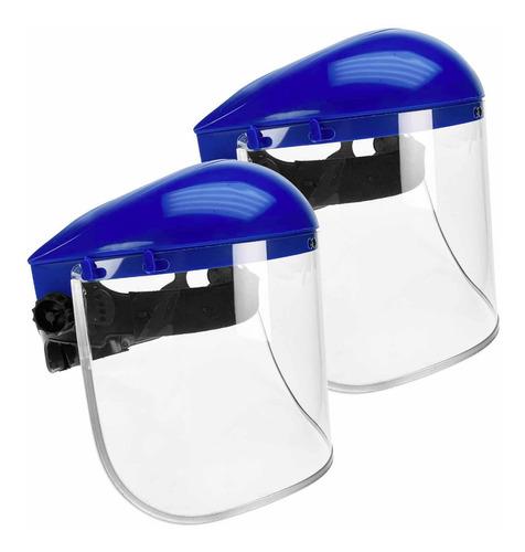 2 Pack Caretas Protector Profesional Abatible Mascarilla