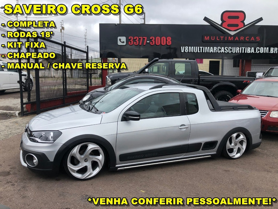 Vw Saveiro Cross G6 2014 Kit Fixa Chapeado (jetta Strada S10