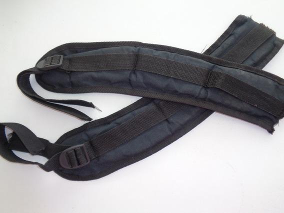 Tiras De Espalda Para Mochila Color Negro X 2 Unidades
