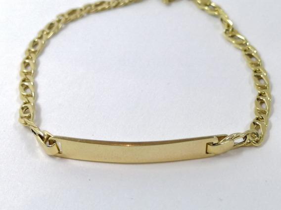 Esclava Pulsera Egipcia Bebe Oro Sólido 10k 14cm + Estuche