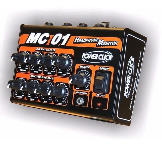 Monitor Individual De Áudio Power Click - Mc 01