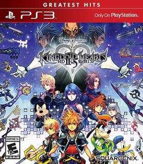 Kingdom Hearts 2.5 Ps3 Físico Nuevo Sellado + Envio Gratis