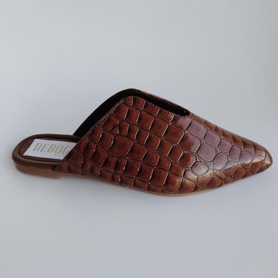 Zapatos - Mules Café - Deboga Shoes