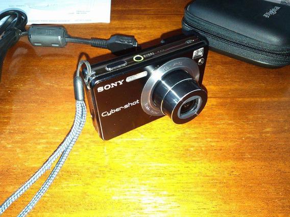 Câmera Digital Sony Dsc-w125 Ótimo Estado