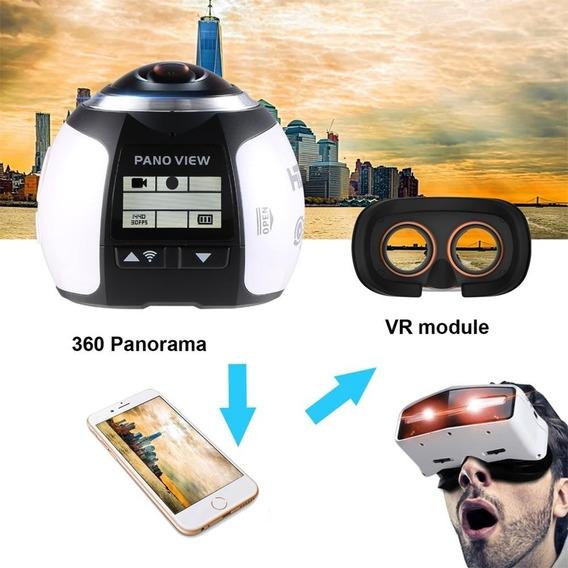 Filmadora Camera Esportiva 360º Graus Panorâmica