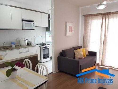 Imagem 1 de 10 de Apartamento 54m² Com 2 Dormitórios Em Barueri!! - 2213