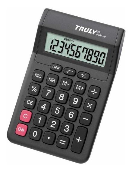 Calculadora De Mesa Truly 806-8 - 8 Dígitos