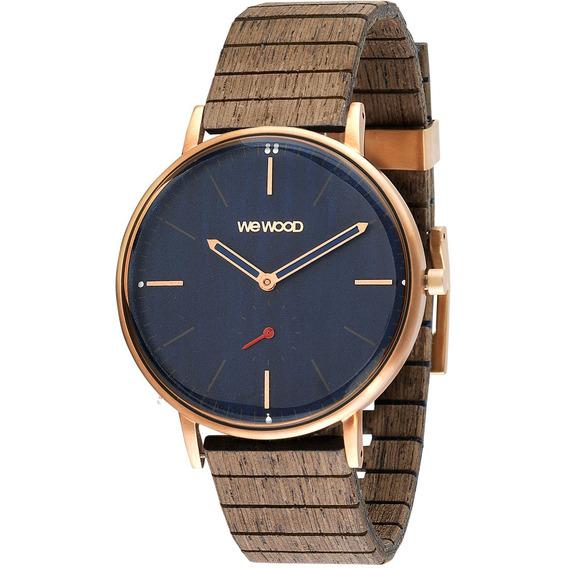 Relógio De Madeira Wewood Albacore - Wwalb03