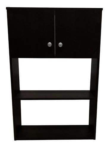Mueble Sobre Inodoro Colgante 2 Puertas 1 Estante Melamina+