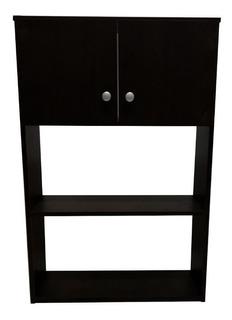 Mueble Sobre Inodoro Colgante 2 Puertas 1 Estante Melamina