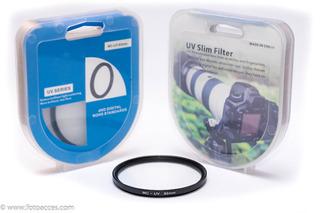 Filtro Ultravioleta Multicapa Mc Uv Para Lentes Dslr De 62mm