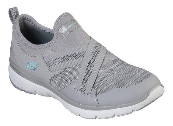 Zapatillas Skechers Flex Apeal 3.0 S/cordones Elastizadas