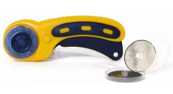Cutter Rotativo Circular Corte Recto Para Tela Sx-765