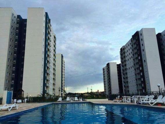 Apartamento Em Jardim Tamoio, Jundiaí/sp De 71m² 3 Quartos Para Locação R$ 1.200,00/mes - Ap429811