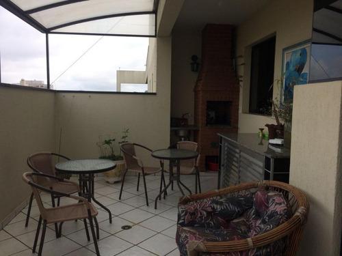 Imagem 1 de 21 de Cobertura Com 4 Dormitórios À Venda, 140m² - Rudge Ramos - São Bernardo Do Campo / Sp - Co2453