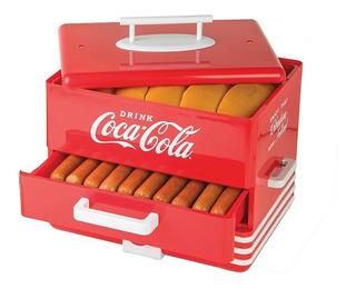 Nostalgia Hds248coke Maquina Para Perros Caliente Cocacola