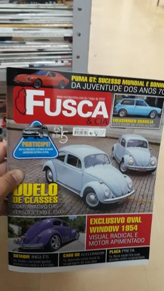 Revista Fusca E Cia N°60 Frete 8.00 Reais
