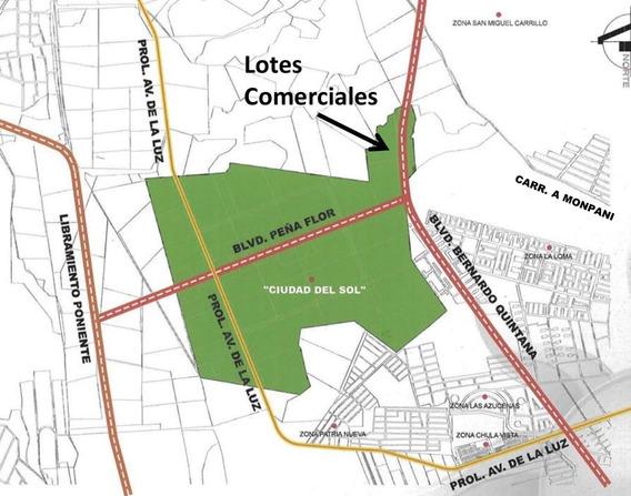 Terreno Comercial Prol B Quintana. Plazas, Locales, Etc
